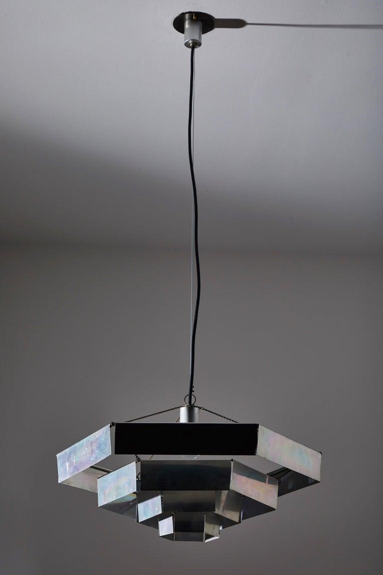 Italian Rare Suspension Light by Bruno Munari for Danese Milano For Sale
