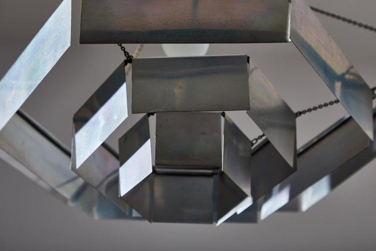 Rare Suspension Light by Bruno Munari for Danese Milano For Sale 2