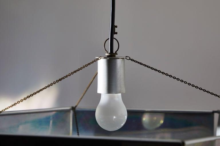 Rare Suspension Light by Bruno Munari for Danese Milano For Sale 4