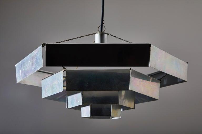Mid-20th Century Rare Suspension Light by Bruno Munari for Danese Milano For Sale