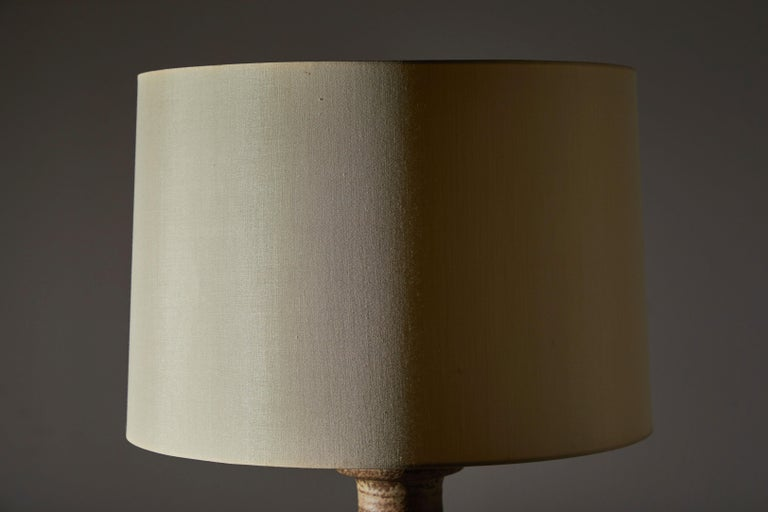Ceramic Table Lamp by Mobach For Sale
