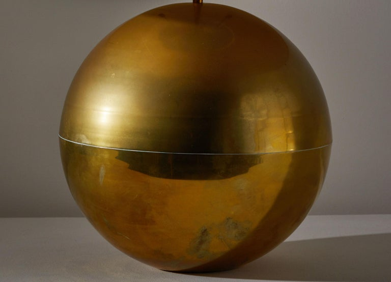 Late 20th Century Table Lamp by Karl Springer For Sale