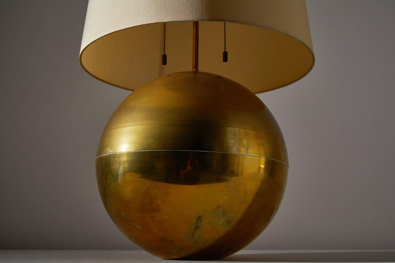 American Table Lamp by Karl Springer For Sale
