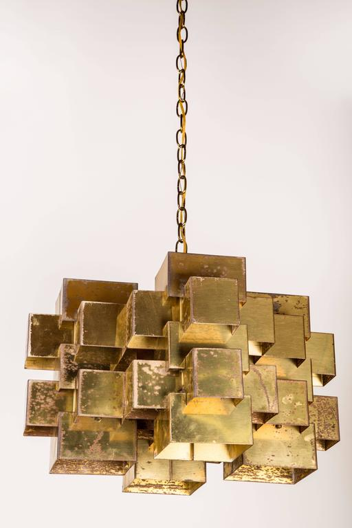 Curtis Jere Pendant In Fair Condition For Sale In Los Angeles, CA