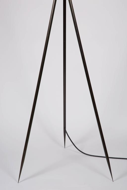 Monumental Bronze Floor Lamps 6