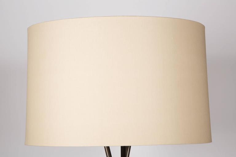 Monumental Bronze Floor Lamps In Excellent Condition For Sale In Los Angeles, CA