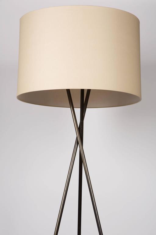 American Monumental Bronze Floor Lamps For Sale