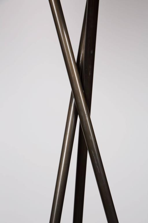 Monumental Bronze Floor Lamps 5