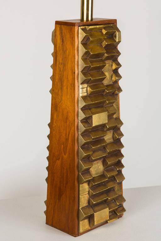 Mid-20th Century Rare Pair of Harry Balmer Table Lamps For Sale