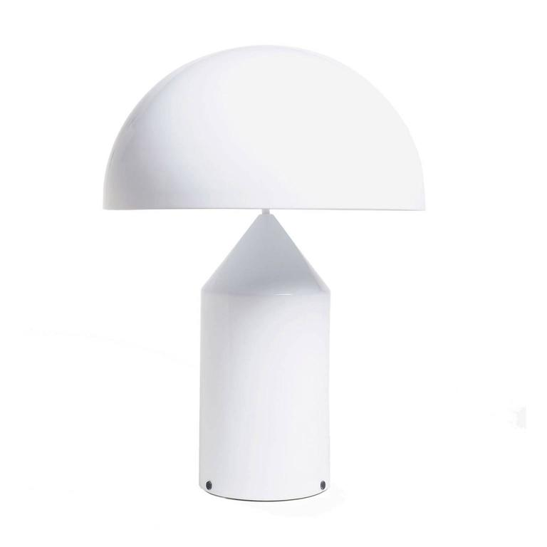 Mid-Century Modern Atollo Model 233 Table Lamp by Vico Magistretti for Oluce For Sale