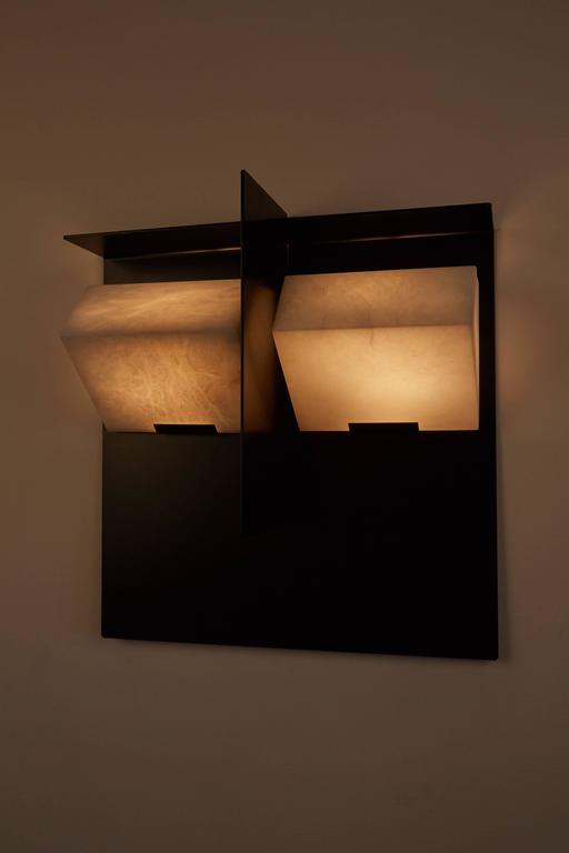 """Mask"" Wall Lamp by Pierre Chareau 3"