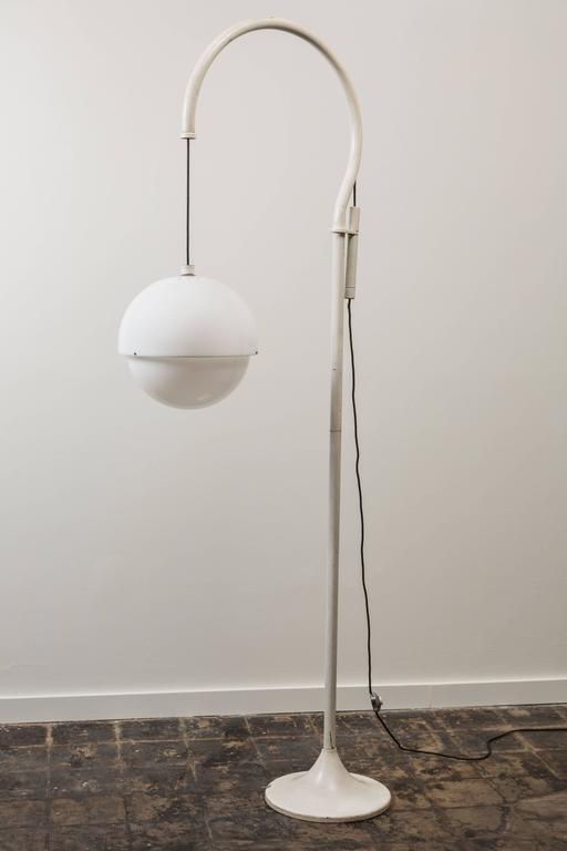 Painted Rare Floor Lamp by Luigi Bandini Buti for Kartell For Sale