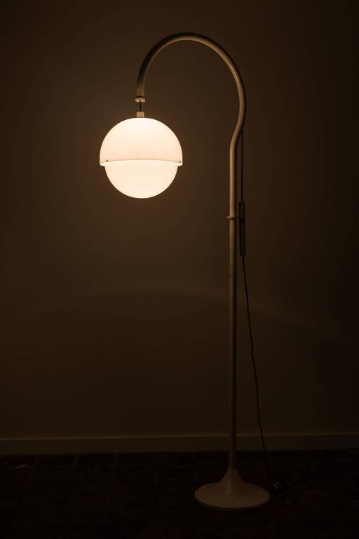 Italian Rare Floor Lamp by Luigi Bandini Buti for Kartell For Sale