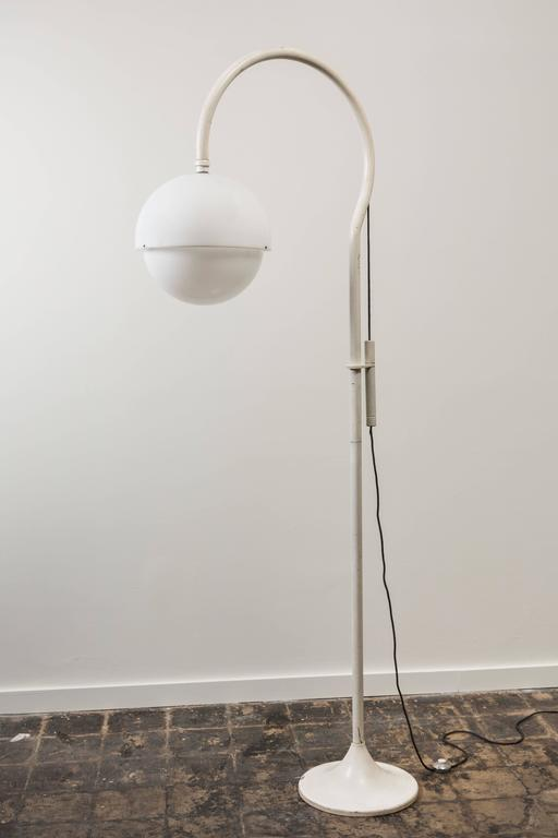 Rare Floor Lamp by Luigi Bandini Buti for Kartell In Excellent Condition For Sale In Los Angeles, CA