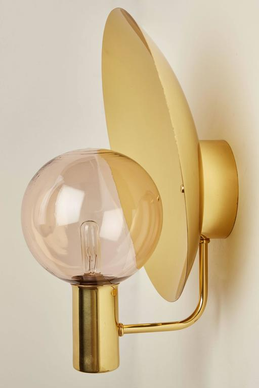 Rewire Custom Blown Glass Sconce For Sale at 1stdibs