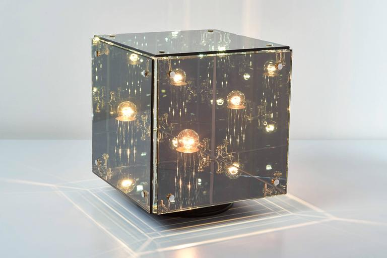 Prismar Luminoso Cubo Table Lamp by Studio A.R.I.D.I.T.I for Sormani 9