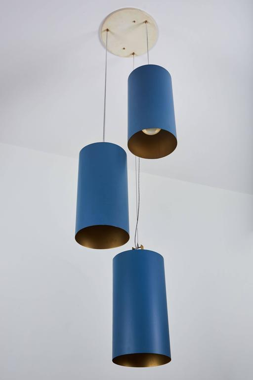 Twenty Three Cylindrical Shades by Louis Poulsen 3