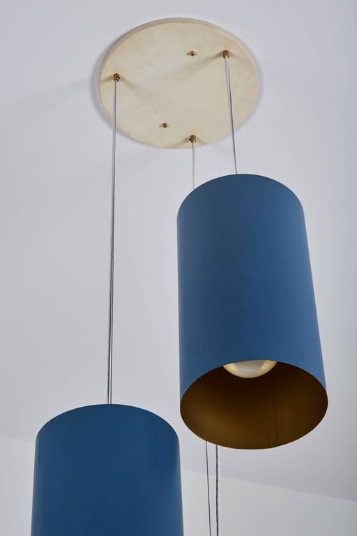 Twenty Three Cylindrical Shades by Louis Poulsen 6
