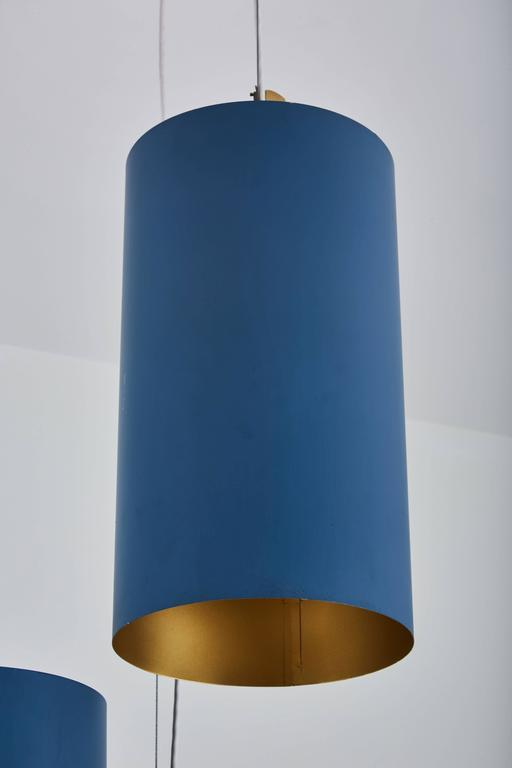 Twenty Three Cylindrical Shades by Louis Poulsen 8