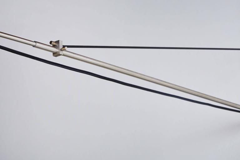 Enameled Model 2061 Wall Light by Gaetano Sciolari for Stilnovo For Sale