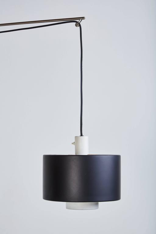 Model 2061 Wall Light by Gaetano Sciolari for Stilnovo In Excellent Condition For Sale In Los Angeles, CA