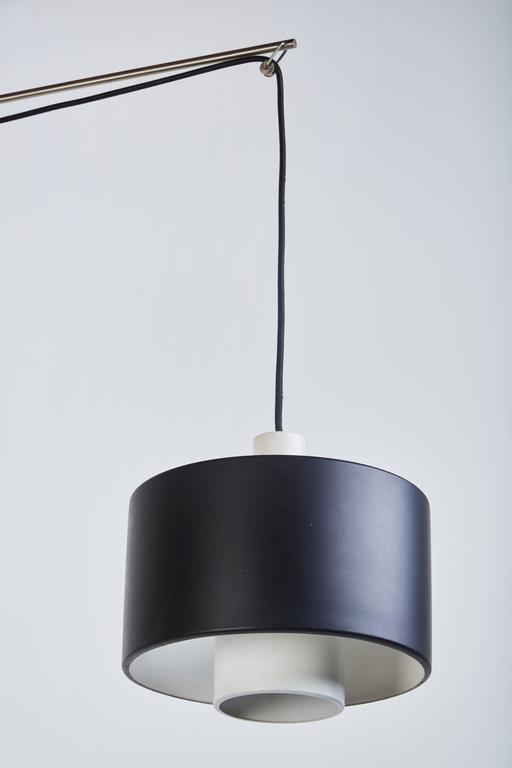 Metal Model 2061 Wall Light by Gaetano Sciolari for Stilnovo For Sale