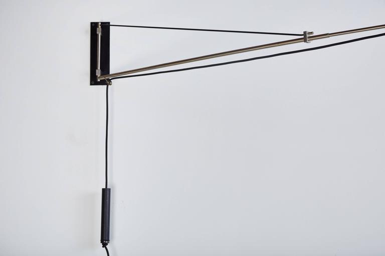Model 2061 Wall Light by Gaetano Sciolari for Stilnovo For Sale 1