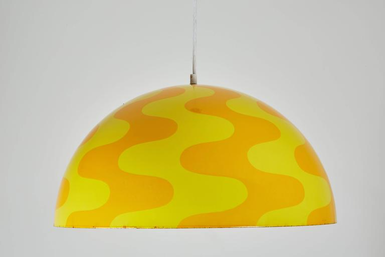 "Rare ""Big Flowerpot"" Pendant by Verner Panton for Louis Poulsen 6"