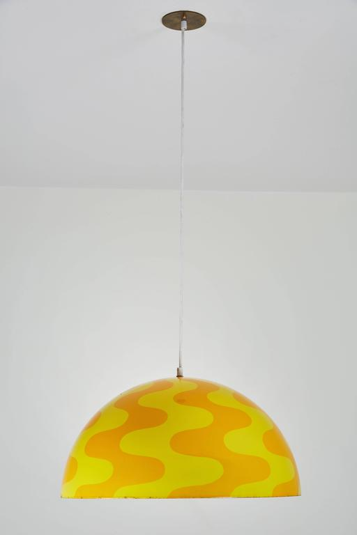 "Rare ""Big Flowerpot"" Pendant by Verner Panton for Louis Poulsen 3"