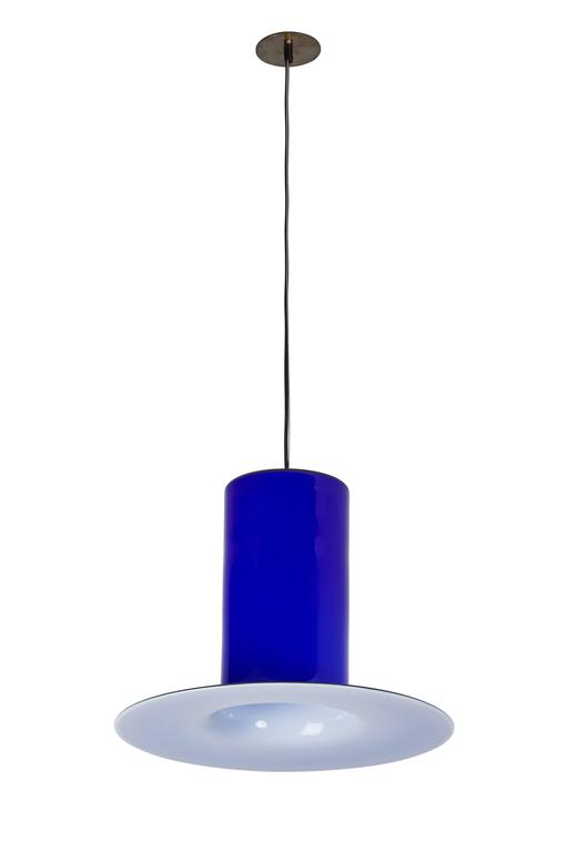 Handblown Glass Pendant by Alessandro Pianon for Vistosi 3
