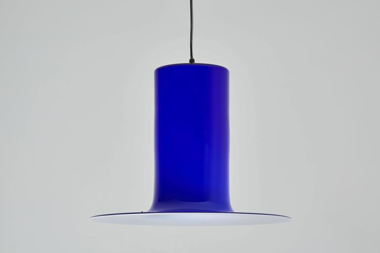 Handblown Glass Pendant by Alessandro Pianon for Vistosi 6