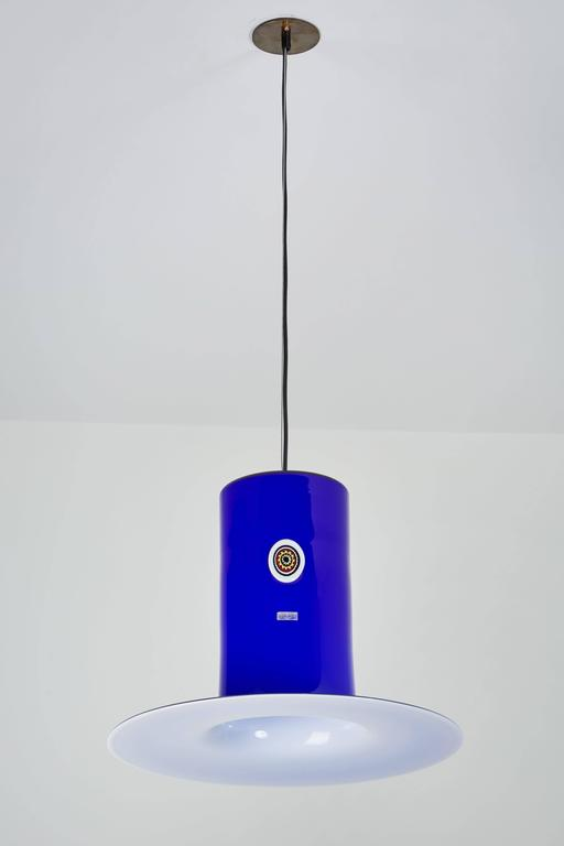Handblown Glass Pendant by Alessandro Pianon for Vistosi 4