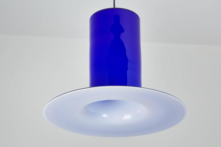 Handblown Glass Pendant by Alessandro Pianon for Vistosi 5