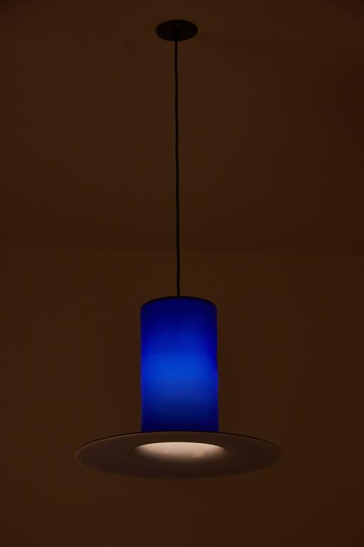 Handblown Glass Pendant by Alessandro Pianon for Vistosi 2