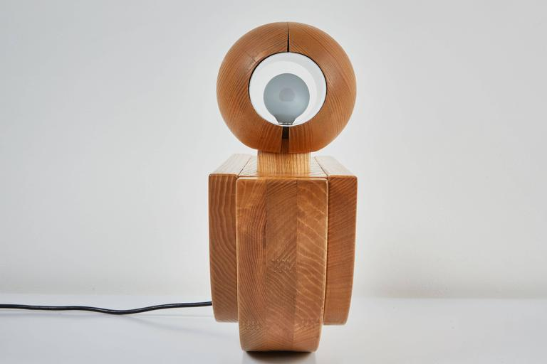 """Uccello"" Table Lamp by Luigi Massoni for ITER Elettronica 5"
