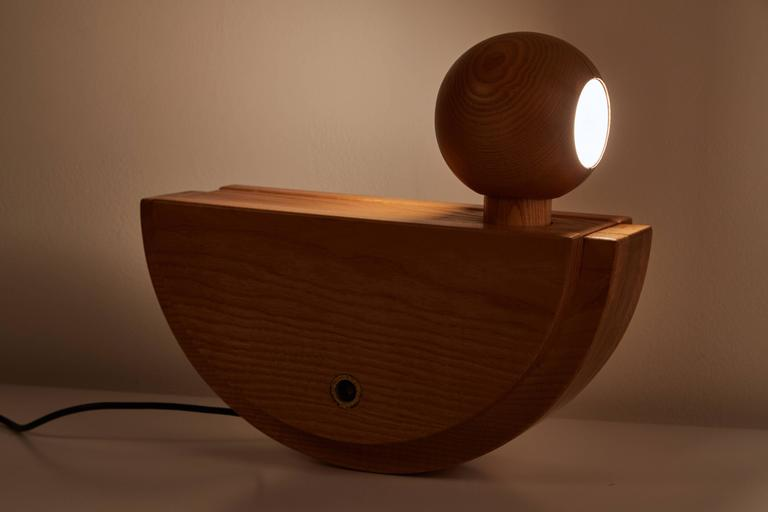 """Uccello"" Table Lamp by Luigi Massoni for ITER Elettronica 2"