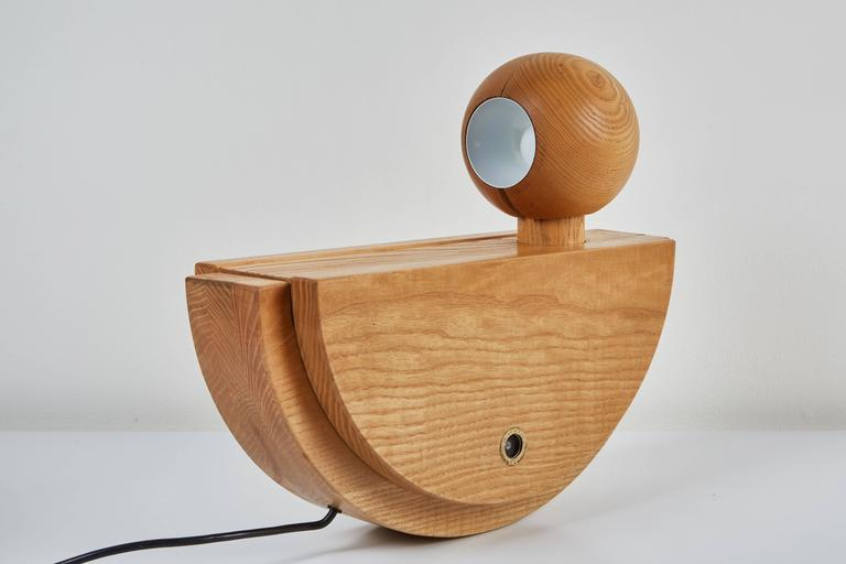 """Uccello"" Table Lamp by Luigi Massoni for ITER Elettronica 4"
