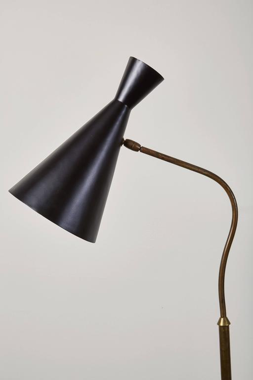 Floor Lamp with Articulating Shade by Stilnovo 3
