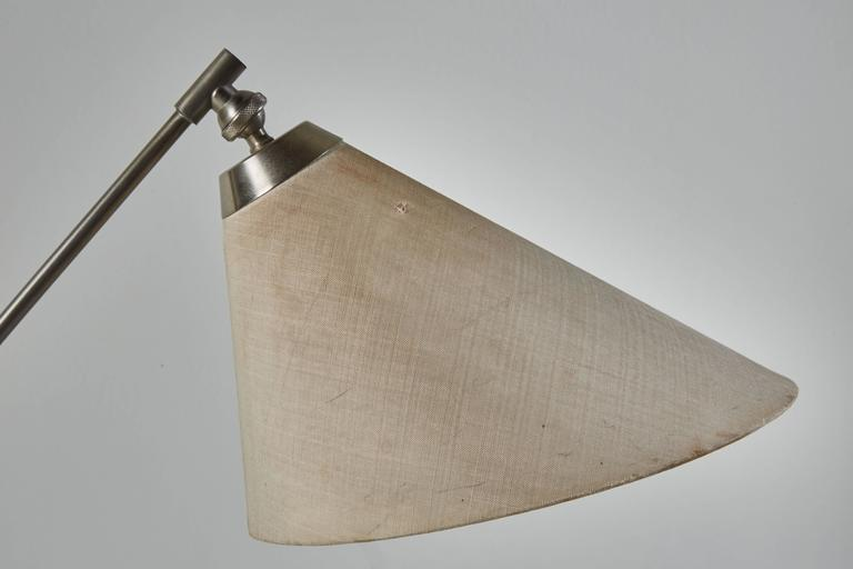 Danish Rare Articulating Table Lamp by Povl Dineson For Sale