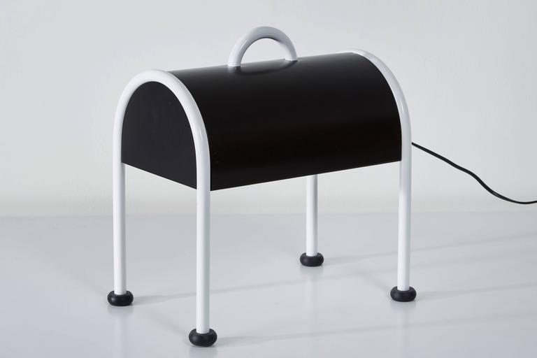'Valigia' Desk Lamp by Ettore Sottsass for Stilnovo 5