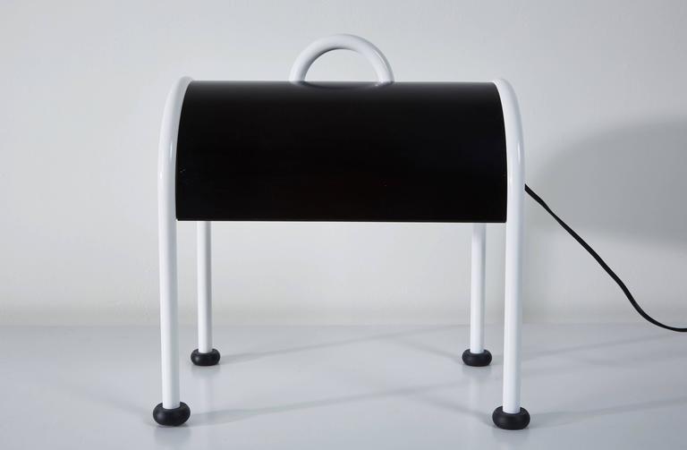 'Valigia' Desk Lamp by Ettore Sottsass for Stilnovo 6