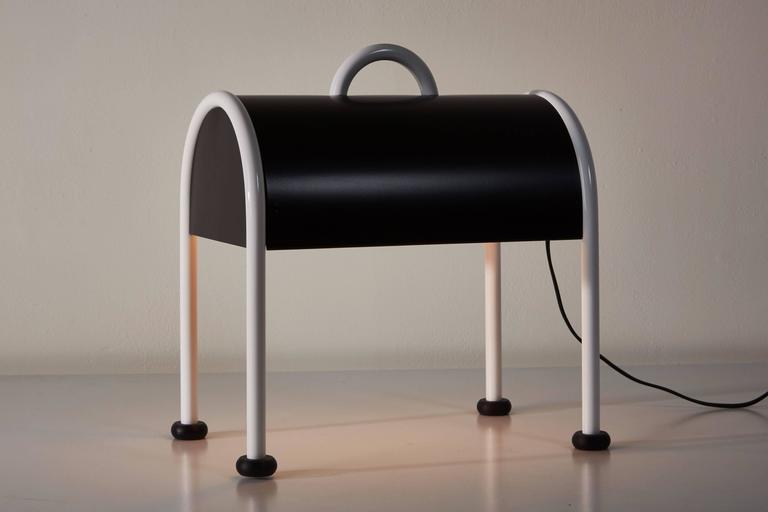 'Valigia' Desk Lamp by Ettore Sottsass for Stilnovo 2