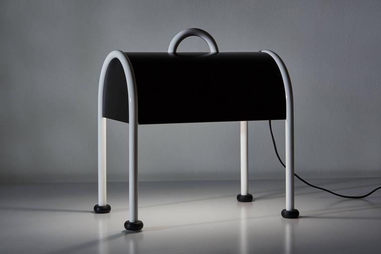 'Valigia' Desk Lamp by Ettore Sottsass for Stilnovo 4