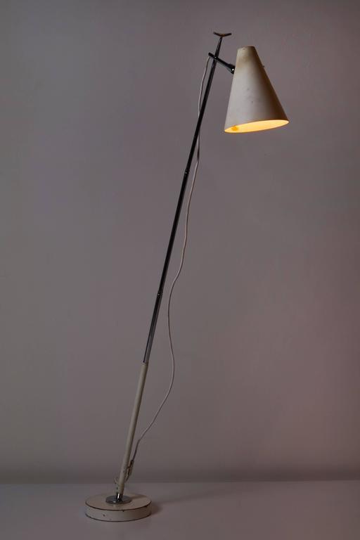 Mid-Century Modern Floor/Table Lamp by Giuseppe Ostuni for Oluce For Sale