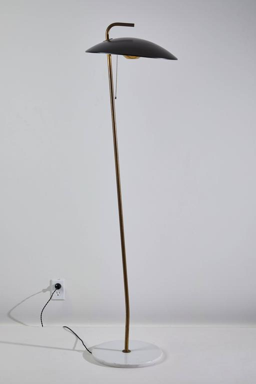 Rare Floor Lamp by Stilnovo In Excellent Condition For Sale In Los Angeles, CA