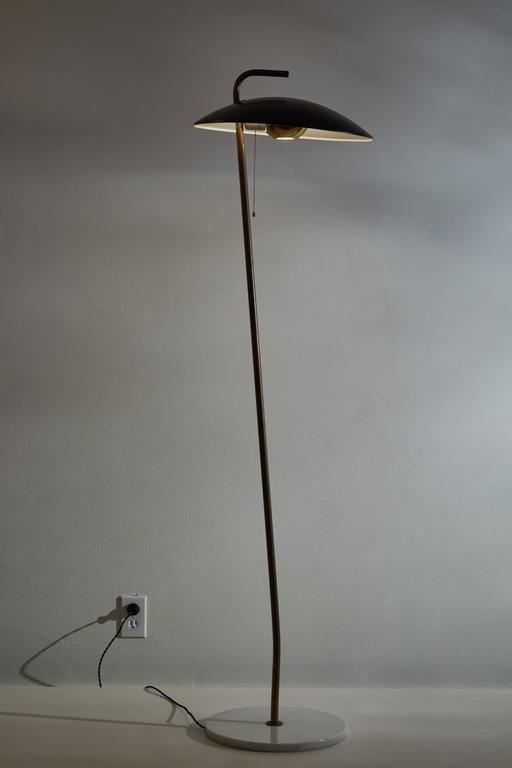 Mid-Century Modern Rare Floor Lamp by Stilnovo For Sale