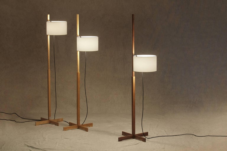 Mid-Century Modern TMM Floor Lamp by Miguel Mila for Santa & Cole For Sale