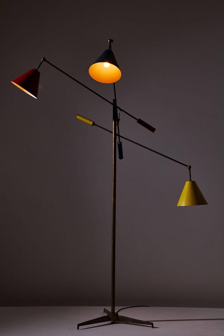 Triennale floor lamp by arredoluce for sale at 1stdibs for Arredo luce
