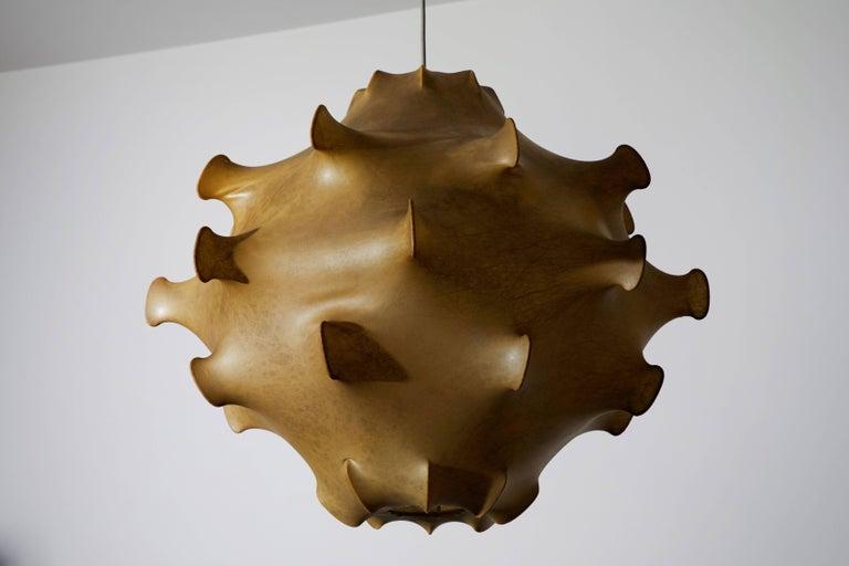Steel Taraxacum Pendant Light by Achille and Pier Giacomo Castiglioni For Sale