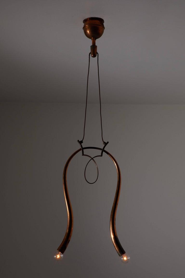 Mid-Century Modern Italian Pendant For Sale